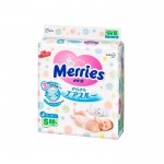 Подгузники MERRIES S MEGAPACK (4-8 кг) 82+6 шт.