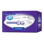 iD Protect Пеленки одноразовые Disposable underpads 60х60, 30шт, РФ