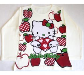 "Кофта ""Apples Kitty"", р92,98"